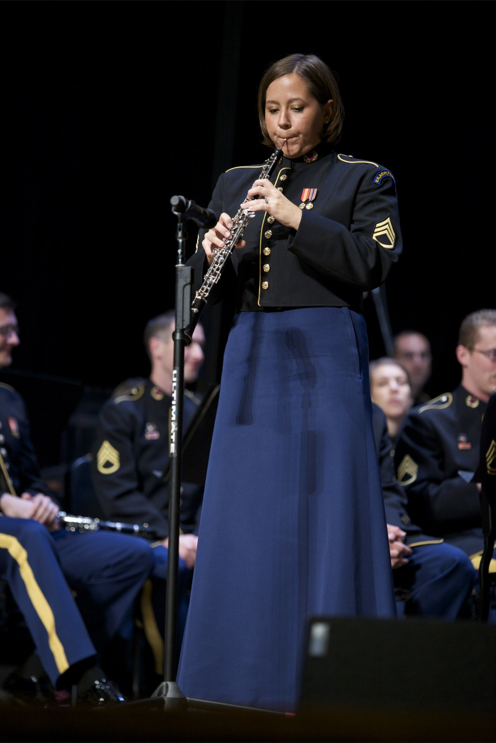 Soloing with the US Army Field Band