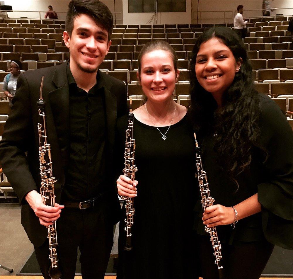 Oboe friends!