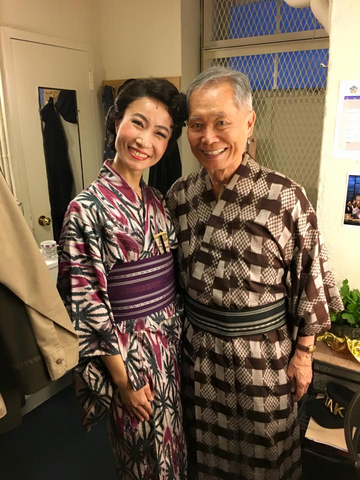 ALLEGIANCE on broadway, with Goerge Takei