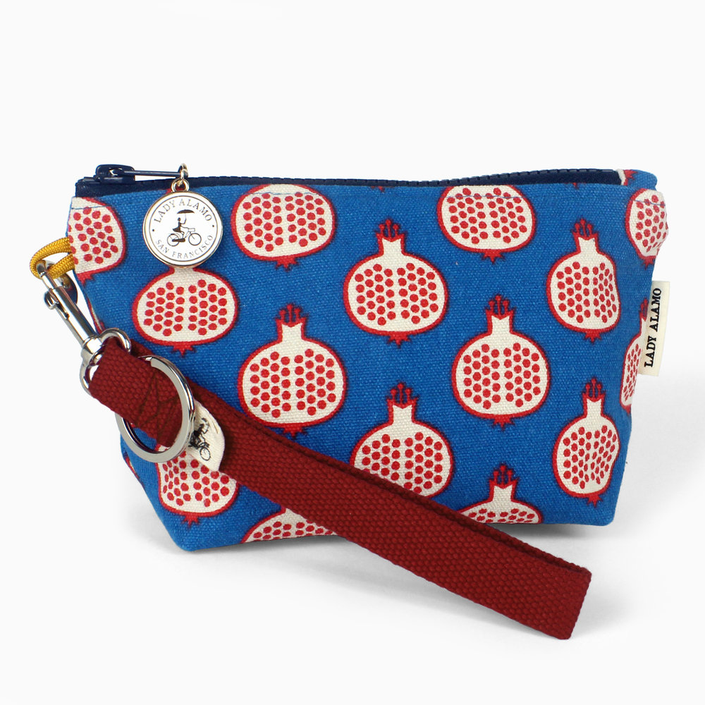 Pomegranate Little Zip Wristlet.jpg