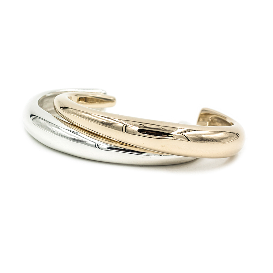 new MGG STUDIO CALA bronze and silver cuffs.jpg