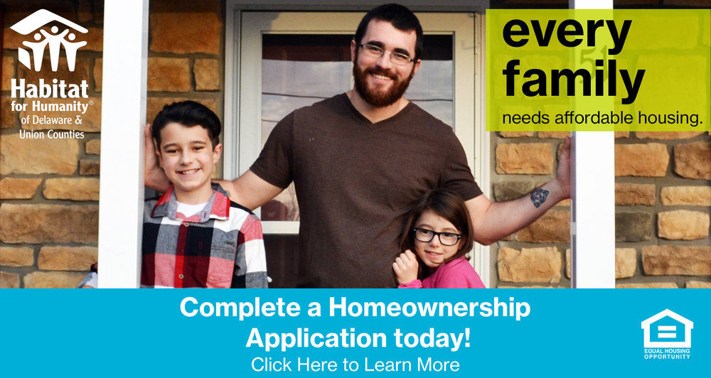Apply to become a Habitat Homeowner