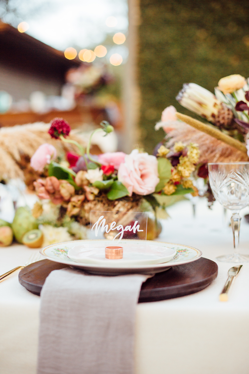 Bohemian Backyard Dinner Party Featured in Camille Styles — MEG ...
