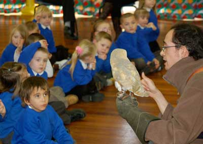 Our School Visits prove immensely popular with youngsters   keen to learn about the wonders of wildlife