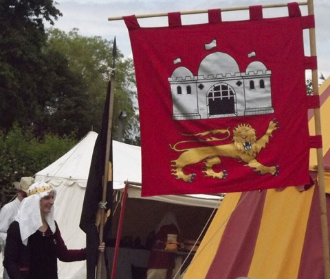 The importance & ongoing relevance of heraldry was explained to all