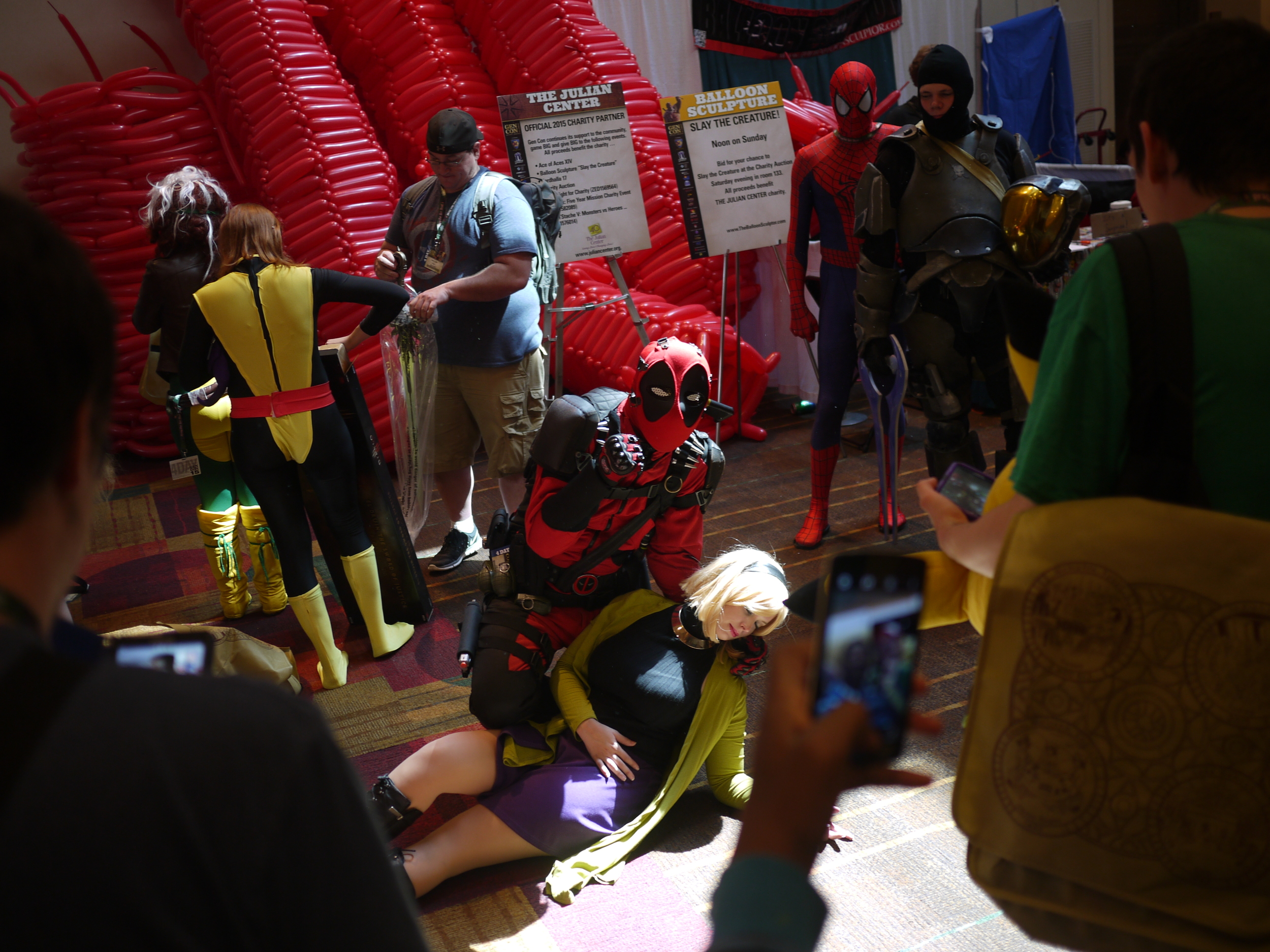 This Deadpool is also a member of the press. Thats some real Gonzo Journalism.
