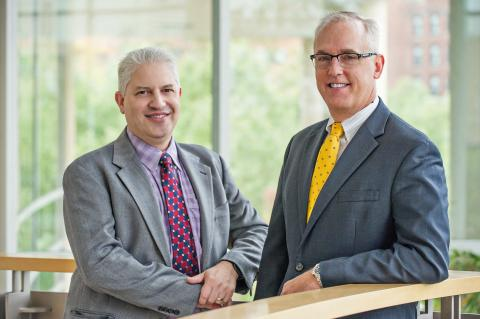 David Pinsky, MD, and Robert Neumar, MD, PhD.