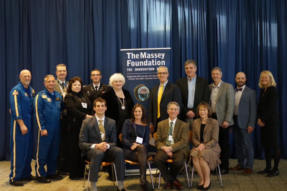 Joseph Mollinger, David Roberts, Steve Maxwell, Lena Napolitano, Todd Jazewski, Brenda Massey, Robert Neumar, Peter LeRoux, Kevin Ward, Marcello Pilia, Tammy Crowder (from back, left to right). Austin Hatch, Peggy Knudson, William Barsan, Lori Shutter (seated, left to right).