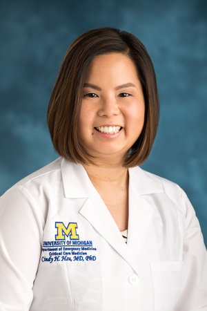 Cindy Hsu, MD, PhD Assistant Professor, Emergency Medicine Assistant Professor, Acute Care Surgery hcindy@umich.edu