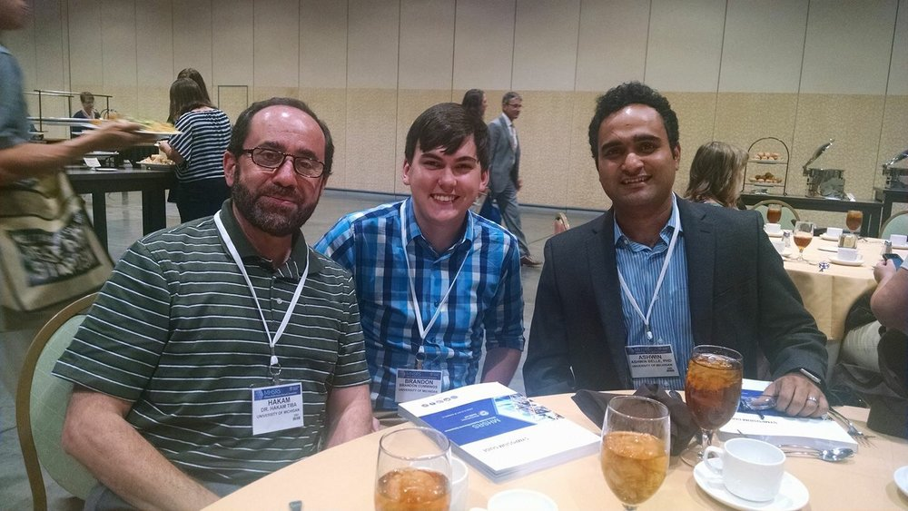 MCIRCC's Hakam Tiba, MD, Brandon Cummings, and Ashwin Belle, PhD