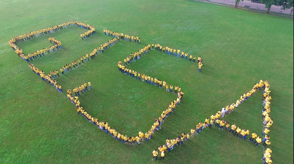 School Drone Photo