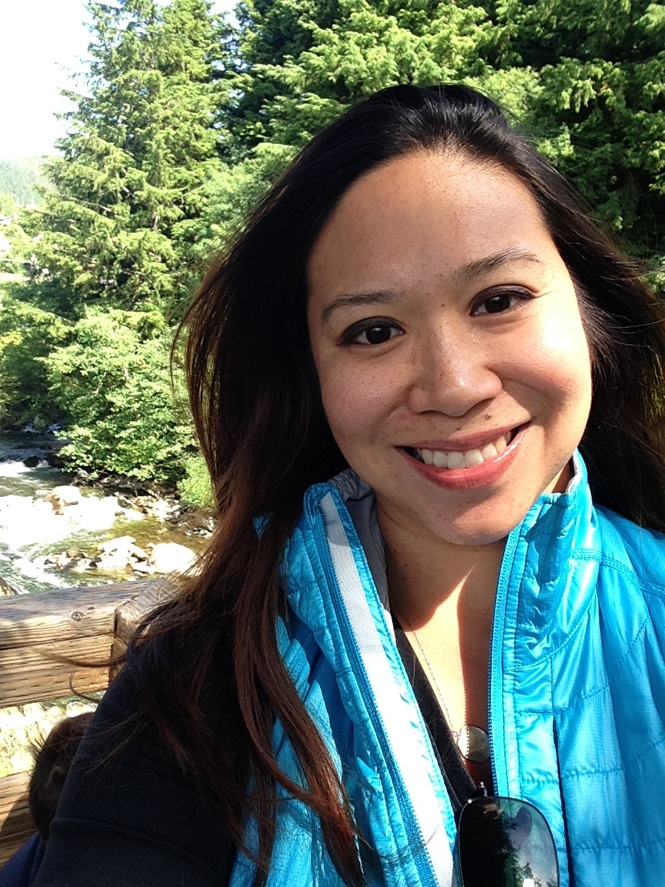 Selfie on Creek St..JPG