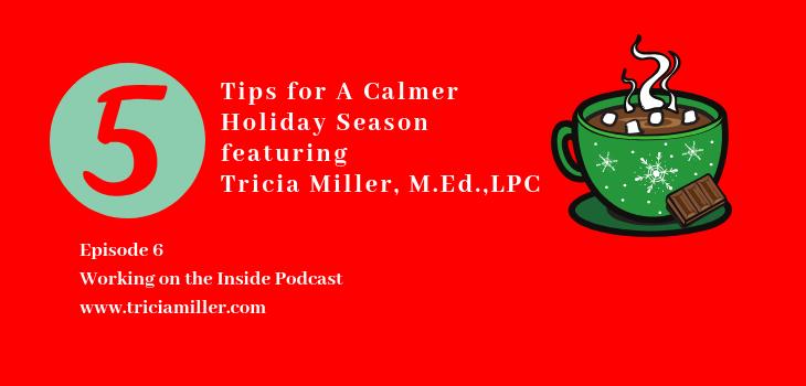 Episode 6: 5 Tips to Experience a Calmer Holiday
