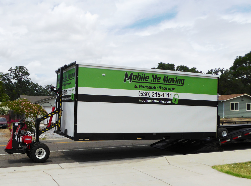 1.     We deliver our 8'X8'X20' Mobile Me Vault to your location, gently lower it to the ground and position it wherever you want it.  Our state of the art delivery system gets the vault closer than any other system.