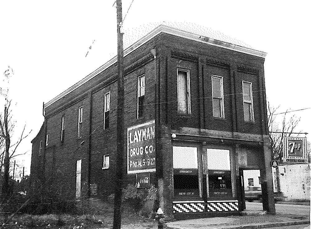 Layman Drug Building 1976 - Metro Nashville Historical Commision.png