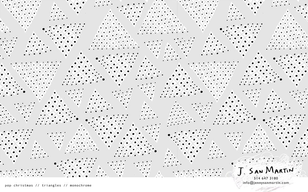 jsanmartin_PopChristmas _triangles_mono.jpg