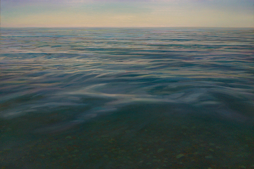 "THALASSA    24"" x 36""  oil on canvas"