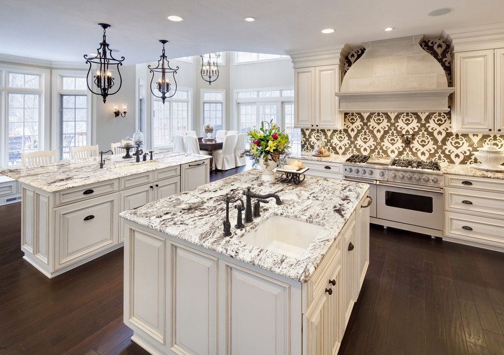 Sumptuous Hinkley Lighting In Kitchen Traditional With White