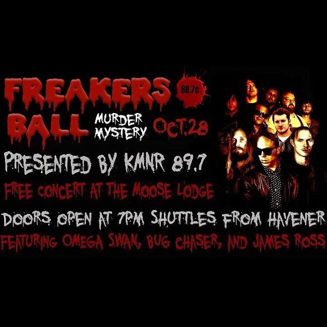 Excited to play a full band set at @kmnr89.7 Freakers Ball this weekend! See you there #Rolla !