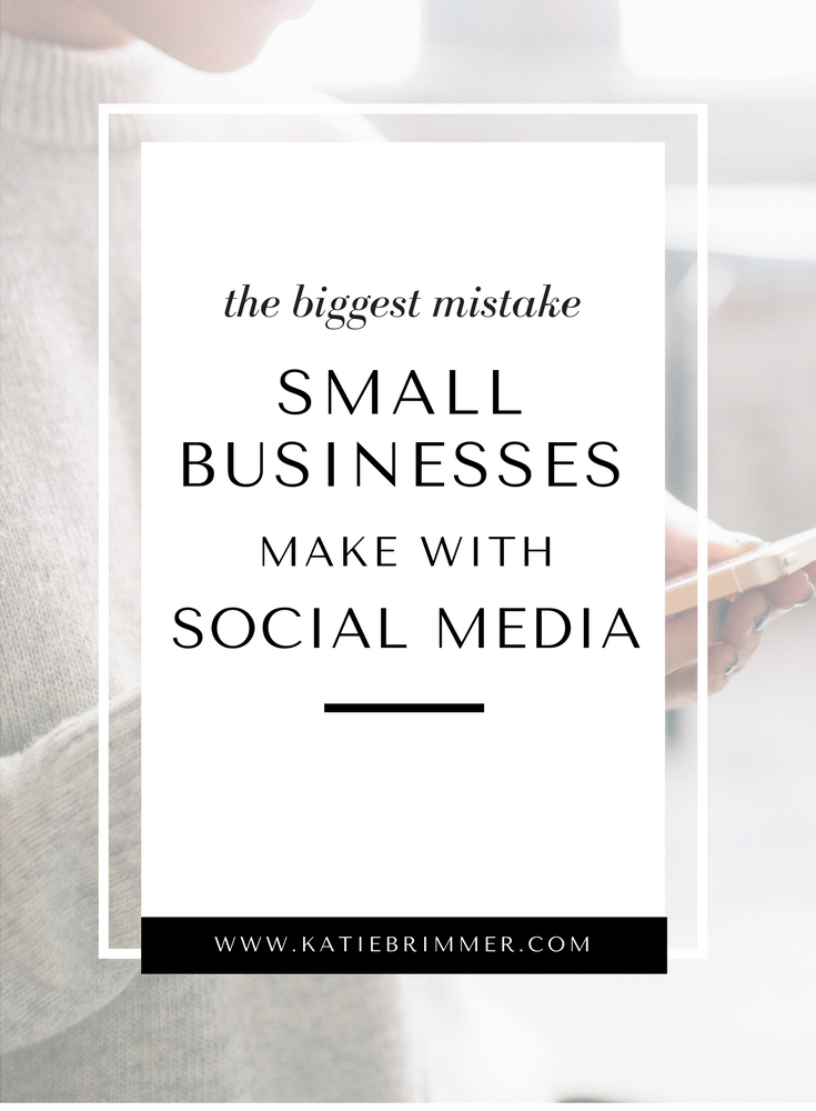Social Media Mistake Small Businesses Make