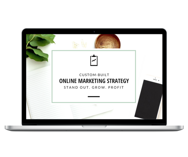 Continue to learn more about the custom-built online marketing strategy service: Stand out. Grow. Profit.