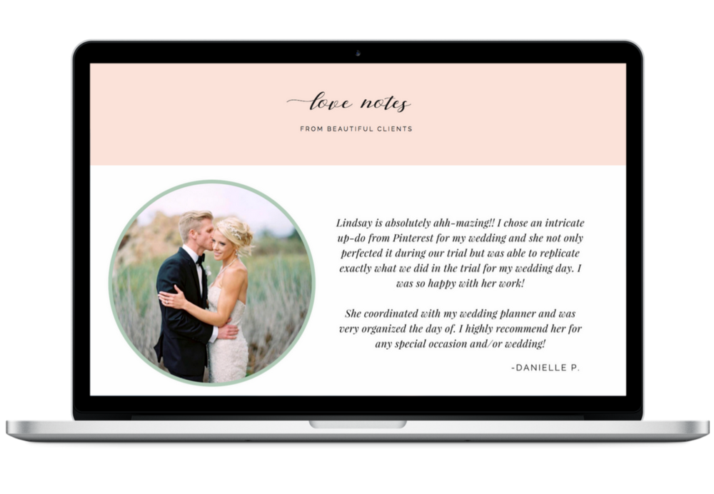 Testimonials Website Design Wedding Hairstylist.png