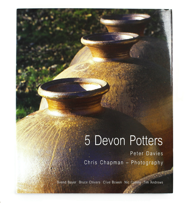 5 Devon Potters - Peter Davis.  Photography Chris Chapman