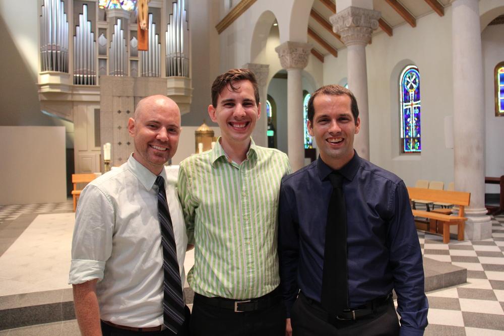 Joshua Shank, Robert Ressler and Russell Adrian