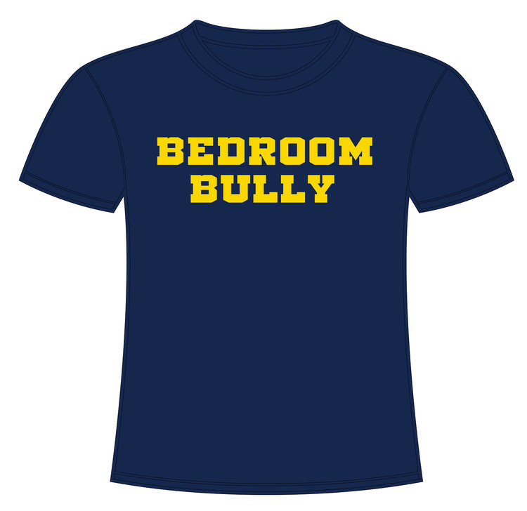 Bedroom Bully Navy Blue Lenny Shirt Delray Misfits Gear