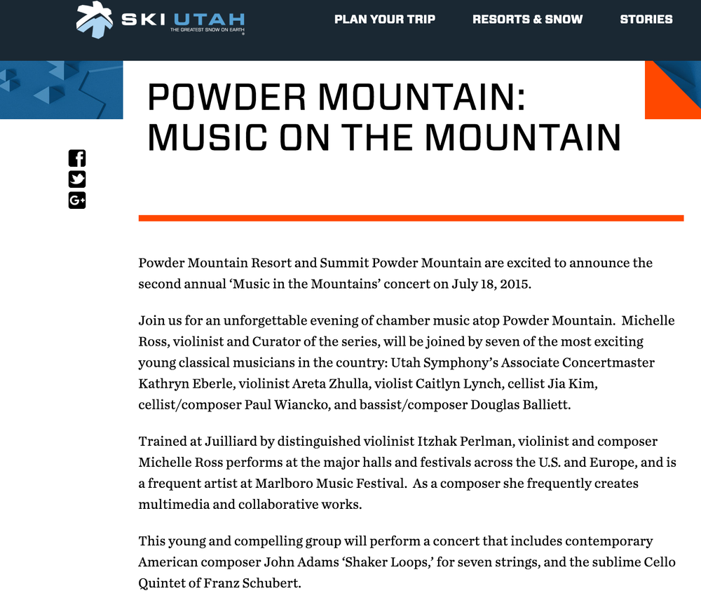 READ THE COMPLETE FEATURE: https://www.skiutah.com/news/authors/pr/powder-mountain-music-on-the