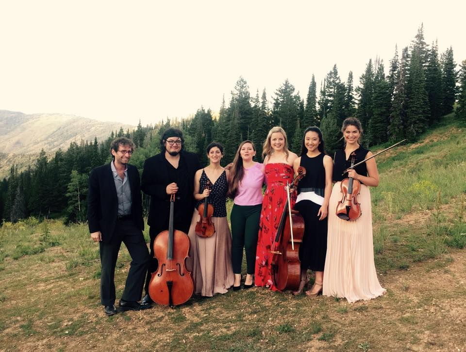 Douglas Balliett, double bass / Paul Wiancko, cello / Michelle Ross, violin / Areta Zhulla, violin / Kathryn Eberle/ violin / Jia Kim, cello / Caitlin Lynch, viola