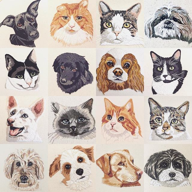 """🚨Pet Portrait Commissions Info!! 🚨 Hey all! As per usual, I will be taking on new pet portrait commissions during my shop update this Friday (7 orders, to be exact). HOWEVER... these will likely take me until late June or even July, at which point I will be uttering the terrifying words """"Christmas Orders"""". I know. It's crazy. But as some of you know, I will be a full-time grad student this Fall and I have a feeling that will keep me pretty busy! So, as crazy as Christmas in April sounds... if you have your heart set on a pet portrait for this Christmas, now might be the best time to get on in there! ❤️ Longest post ever! Thanks for hanging in there. And, if you don't know already, I'm offering FREE SHIPPING worldwide, so that's fun! 🤪"""