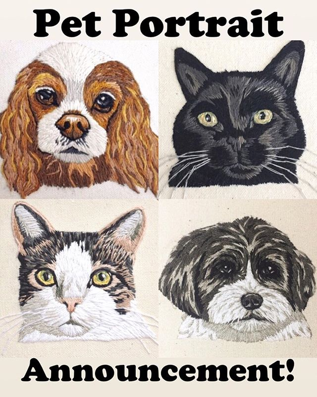 💥Important pet portrait announcement!💥 My next batch of pet portraits [June 25th] will be the last guaranteed slot of 2018 😧! I am starting grad school in September and will be taking a little break from custom orders. I will be taking on 🖐🏻 FIVE orders, and then after that... 🤷🏻♀️. So if this is something you've been mulling over, don't hesitate! 😘
