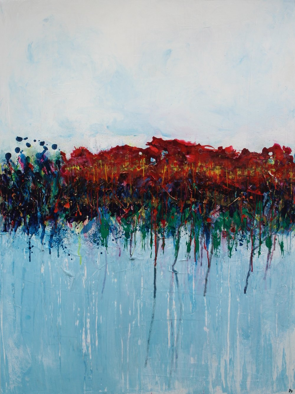 Forest Bath 48 x 36 - sold
