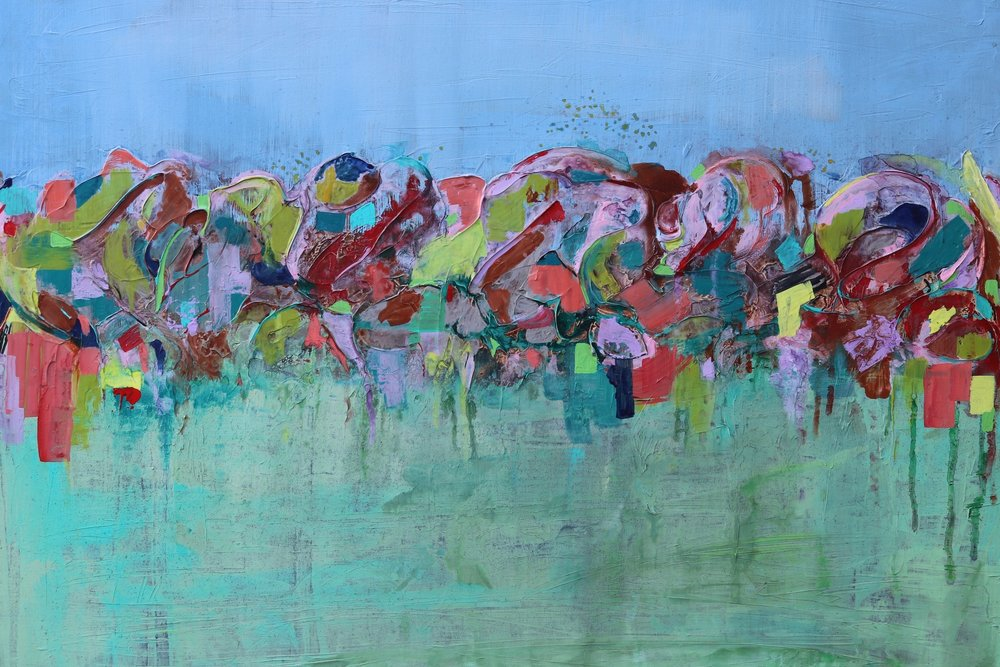 Memory of A Scent 36 x 48 - sold