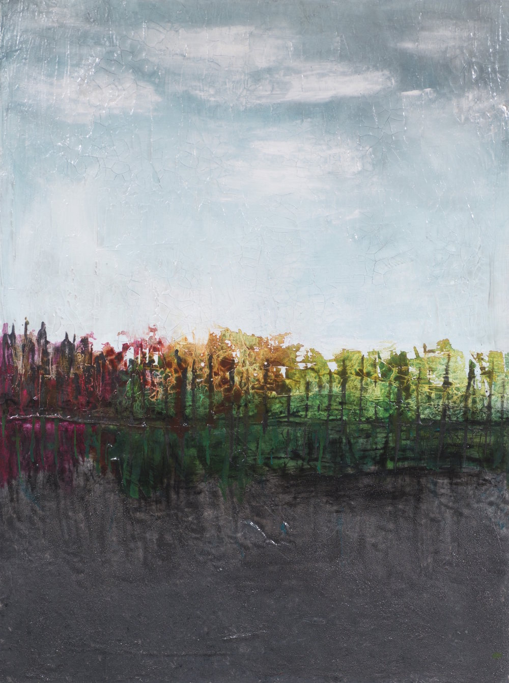 Habitat of Tranquility 48 x 36 - sold