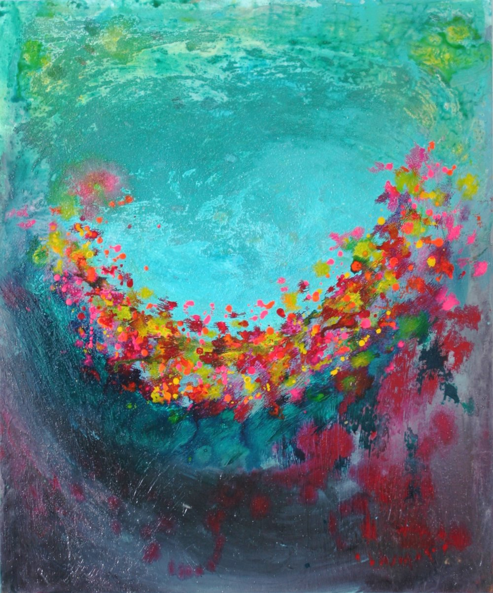 Subaquatic Garden 40 x 30 - sold