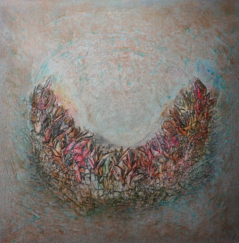 Serenity 36 x 36 - sold