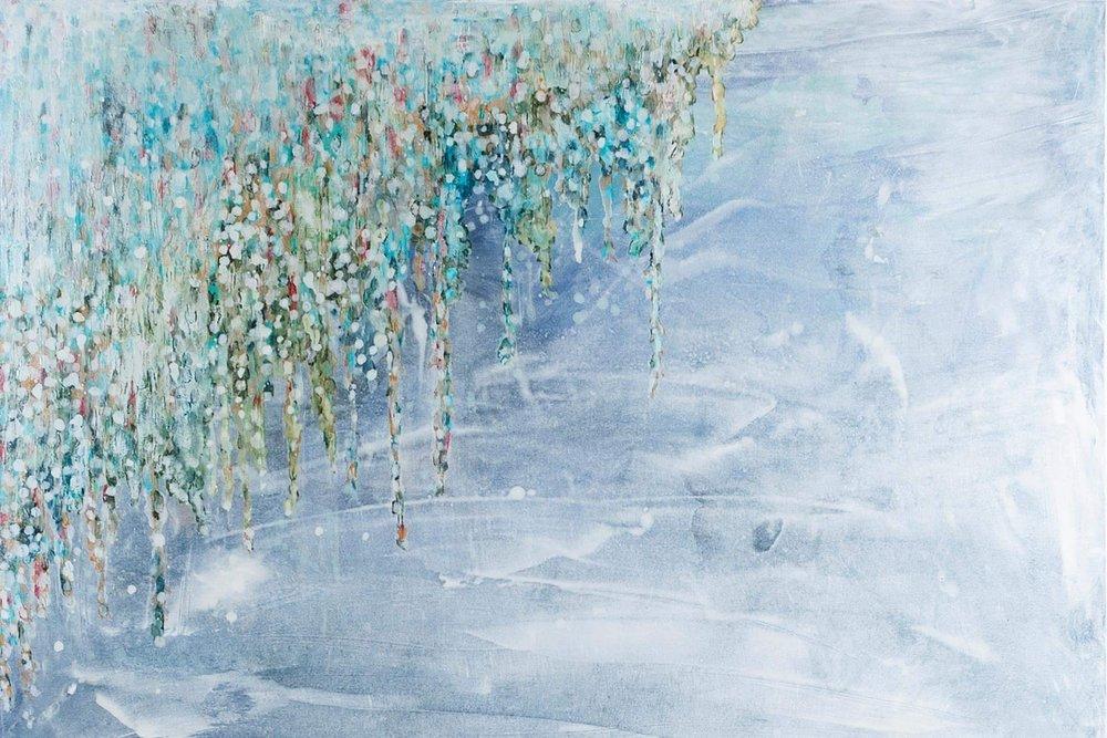 Island Series - Untitled 36 x 48 - sold