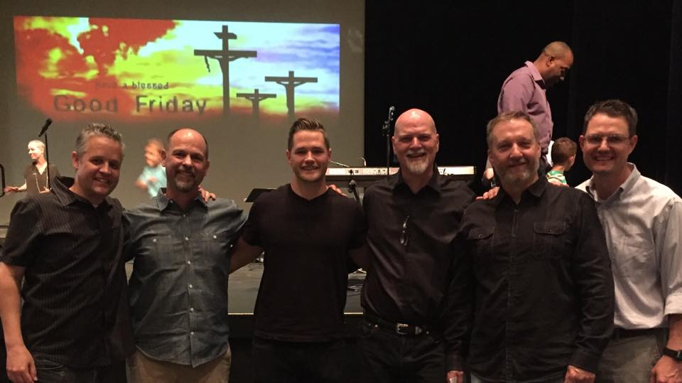 me with Michael Dennis, Luke Norsworthy, Tom Goodman, Scott Warner and Ben Brummet. Fellow pastors that are my brothers in this community.