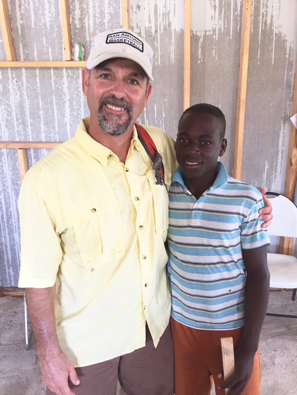 Delecsan attends Green Church Number 1. We've played with he & his brothers at our VBS programs for the last few years. He's growing into a sweet young man who helps Pastor Noel around the church property.