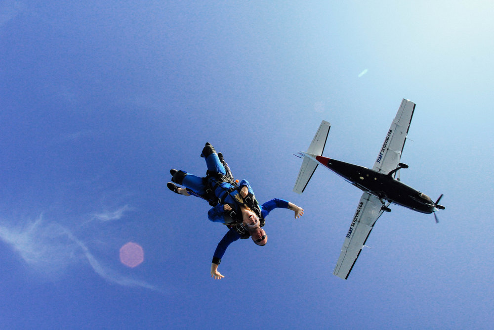 14: Skydive