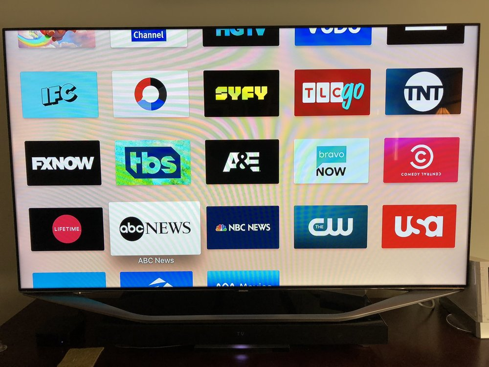 You have to register and activate every single app, then link them to your DirectTVNow account. Once you do, you can stream virtually every show on the network. Some even stream live TV.