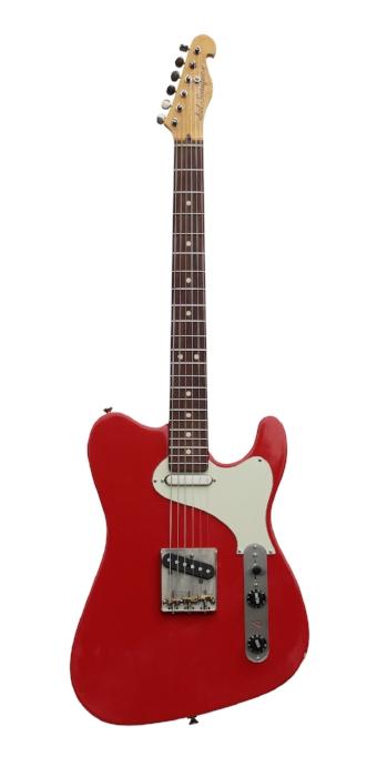 Fiesta Red, Mojo Tone custom wound pickups