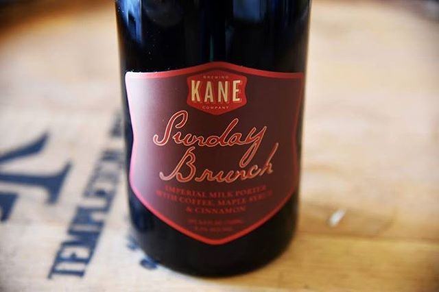 @kanebrewing 2018 Sunday Brunch on draft tomorrow for the anniversary!  We'll also be tapping rare beers from @oecbrewing @thereferendbierblendery @brueryterreux @mindfulales @icarusbrewing and more!
