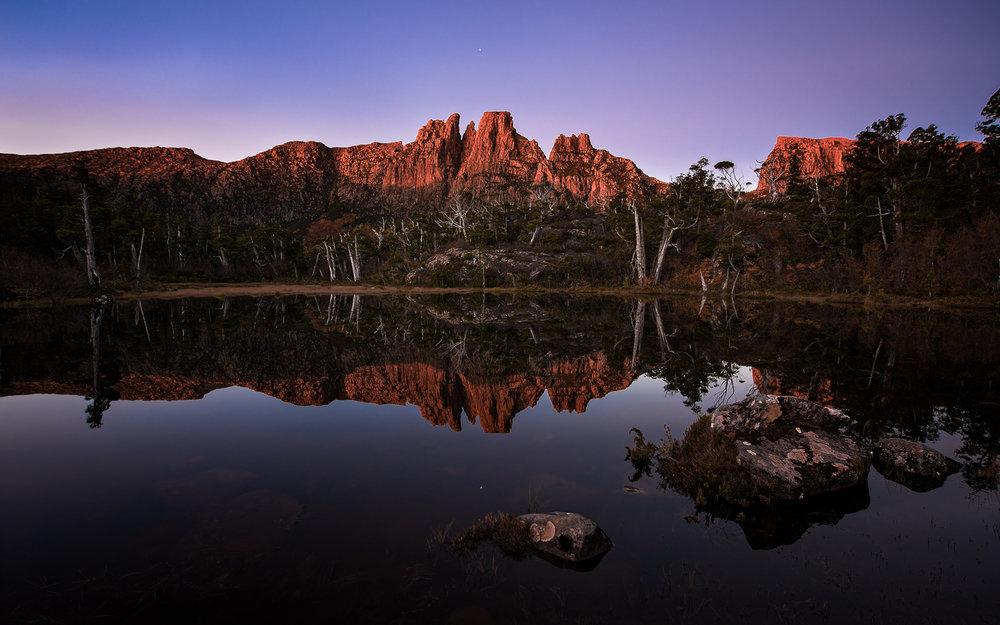 Tasmanian Photography - Reflecting On Memories Sunset - WILKOGRAPHY.jpg