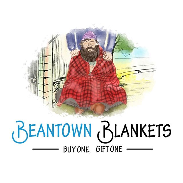 More blankets arriving this week! Plenty of meetings ahead as we work to build partnerships, expand our out reach, and add items to our product line👍🏼 #buyonegiftone #charity #donate #homeless