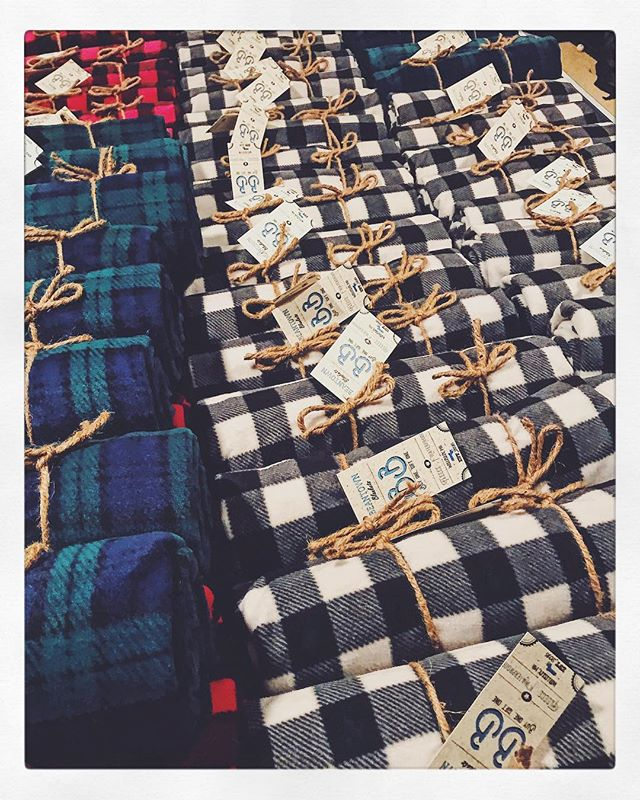 Preparing for a very busy holiday season! Beantown Blankets make wonderful gifts. A gift that gives back. Custom embroidery available for companies, teams and events. Email info@beantownblankets for more information! #buyonegiftone