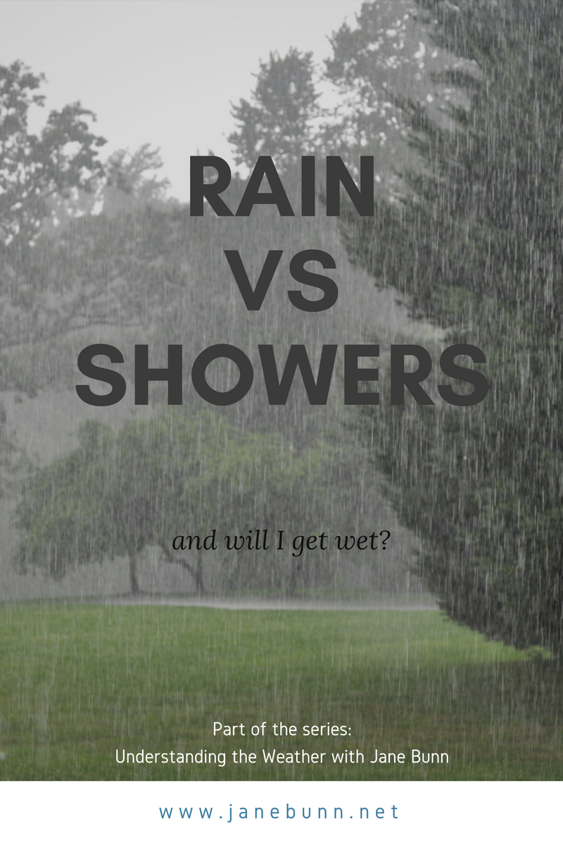 Part Two: Rain vs Showers — janesweather