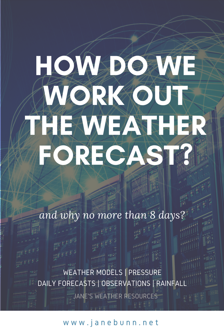 How do we work out the weather forecast? — janesweather